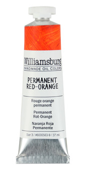 Williamsburg Handmade Oil 37ml Permanent Red Orange