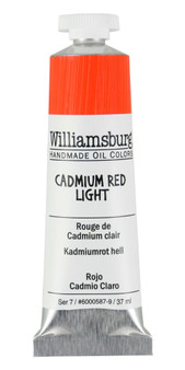 Williamsburg Handmade Oil 37ml Cadmium Red Light