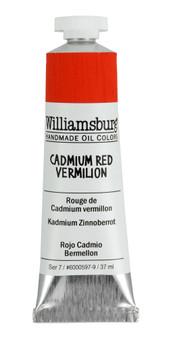 Williamsburg Handmade Oil 37ml Cadmium Red Vermillion