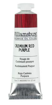 Williamsburg Handmade Oil 37ml Cadmium Red Purple