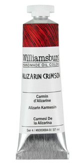 Williamsburg Handmade Oil 37ml Alizarin Crimson