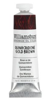 Williamsburg Handmade Oil 37ml Quinacridone Goldish Brown