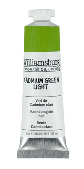 Williamsburg Handmade Oil 37ml Cadmium Green Light