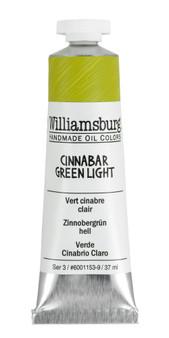 Williamsburg Handmade Oil 37ml Cinnabar Green Light