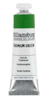Williamsburg Handmade Oil 37ml Cadmium Green