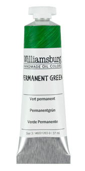 Williamsburg Handmade Oil 37ml Permanent Green