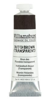 Williamsburg Handmade Oil 37ml Dutch Brown Transparent