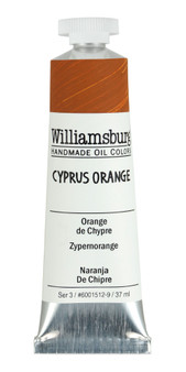 Williamsburg Handmade Oil 37ml Cyprus Orange