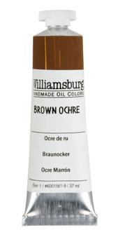 Williamsburg Handmade Oil 37ml Brown Ochre