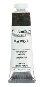 Williamsburg Handmade Oil 37ml Raw Umber