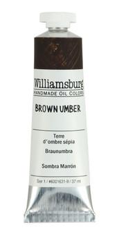 Williamsburg Handmade Oil 37ml Brown Umber