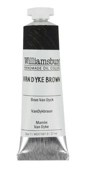 Williamsburg Handmade Oil 37ml Vandyke Brown