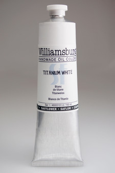 Williamsburg Oil 150ml Safflower Oil Color Titanium White