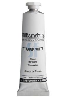 Williamsburg Oil 37ml Safflower Oil Color Titanium White