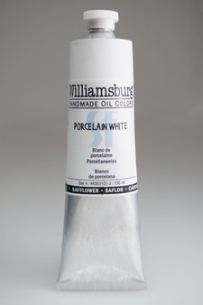 Williamsburg Oil 150ml Safflower Oil Color Porcelain White