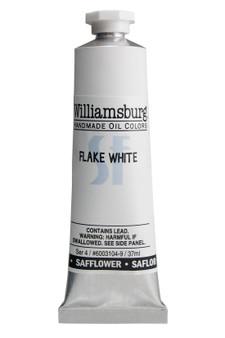 Williamsburg Oil 37ml Safflower Oil Color Flake White