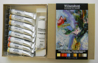 Williamsburg Oil Paint Signature 9 Colors Set