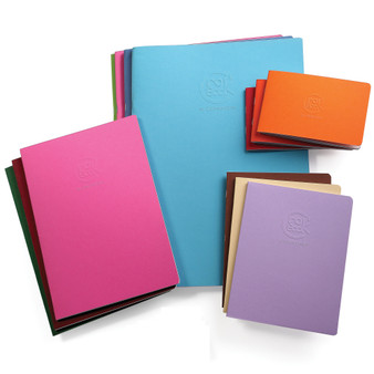"Clairefontaine Crok Book 6.75""x8.75"" various colors"