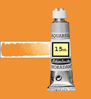 Schmincke Horadam Aquarell 15ml Chromium Orange Hue (formerly Chrome Orange) - 214
