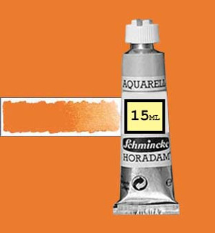 Schmincke Horadam Aquarell 15ml Cadmium Orange Deep - 228