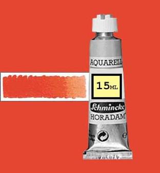Schmincke Horadam Aquarell 15ml Cadmium Red Orange - 348