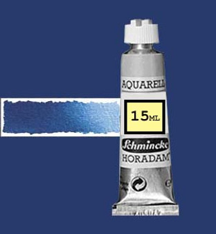 Schmincke Horadam Aquarell 15ml Paris Blue - 491