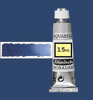 Schmincke Horadam Aquarell 15ml Dark Blue (formerly Dark Blue Indigo) - 498