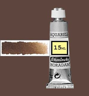 Schmincke Horadam Aquarell 15ml Burnt Umber - 668