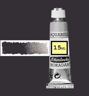 Schmincke Horadam Aquarell 15ml Anthracite (formerly Charcoal Grey) - 786