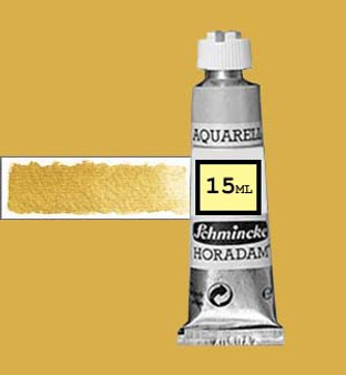 Schmincke Horadam Aquarell 15ml Gold - 893