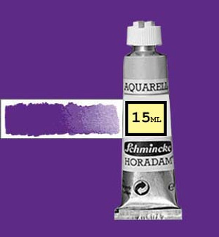 Schmincke Horadam Aquarell 15ml Brilliant Blue Violet - 910