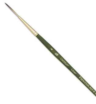 Princeton Short-Handle Acrylic Synthetic Liner 4