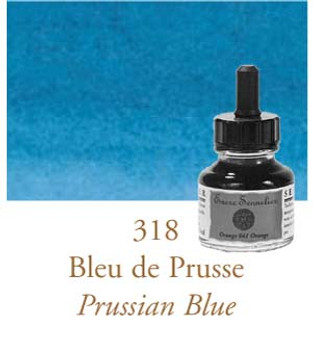 Sennelier Drawing Ink 30ml Prussian Blue