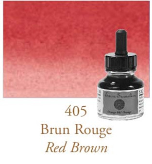 Sennelier Drawing Ink 30ml Red Brown