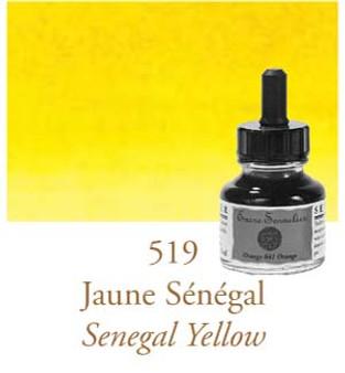 Sennelier Drawing Ink 30ml Senegal Yellow