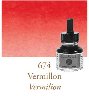 Sennelier Drawing Ink 30ml Vermilion