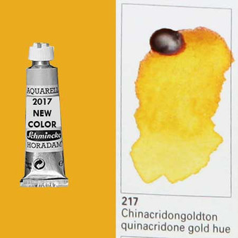 Schmincke Horadam Aquarell 15ml Tube Watercolor Quinacridone Gold Hue - 217
