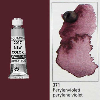 Schmincke Horadam Aquarell 15ml Tube Watercolor Perylene Violet - 371