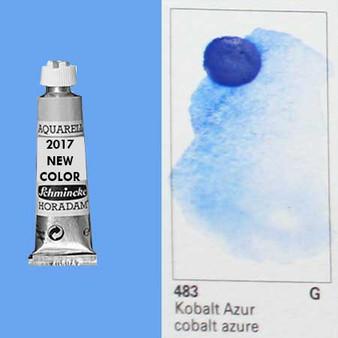 Schmincke Horadam Aquarell 15ml Tube Watercolor Cobalt Azure - 483