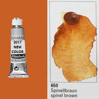 Schmincke Horadam Aquarell 15ml Tube Watercolor Spinel Brown - 650