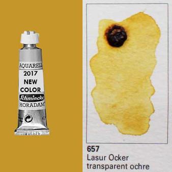 Schmincke Horadam Aquarell 15ml Tube Watercolor Transparent Ochre - 657