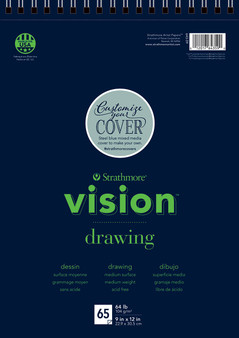 Strathmore Vision Drawing 65 Sheet Pad 9x12""