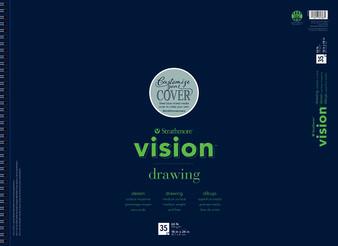 "Strathmore Vision Drawing Pad 35 Sheets 18x24"""