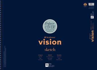 "Strathmore Vision Sketch Pad 55 Sheets 18x24"""