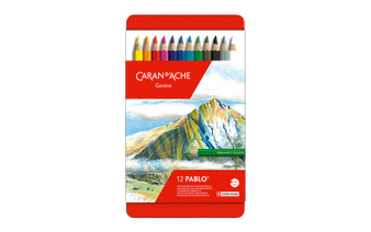 Caran d'Ache Pablo Pencil 12 Color Set
