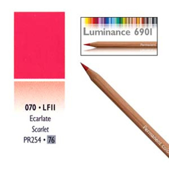 Caran DAche Luminance Colored Pencil Scarlet