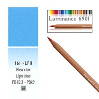 Caran DAche Luminance Colored Pencil Light Blue