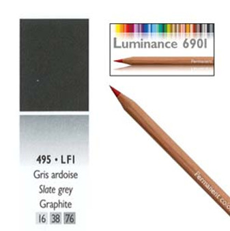 Caran DAche Luminance Colored Pencil Slate Grey