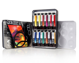 QoR Watercolor Introductory Set of 12 Colors