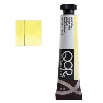 QoR Watercolor 11ml tube Nickel Yellow